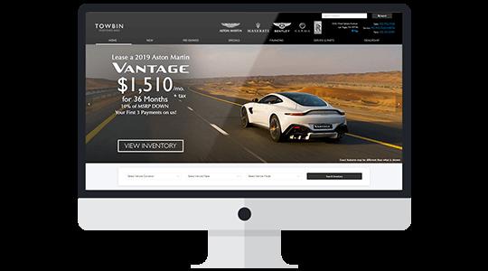 Award Winning Dealer Websites